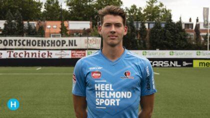 Keeper Robin Mantel langer bij Helmond Sport
