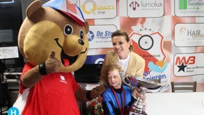 Keje Pouwels verdient Leontien van Moorseltrofee