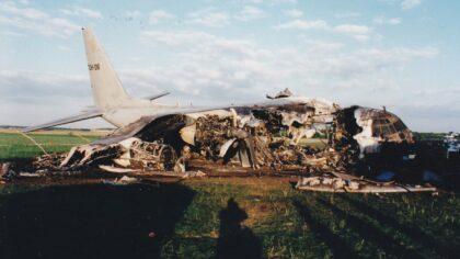 Herdenking van de Herculesramp op de Vliegbasis Eindhoven