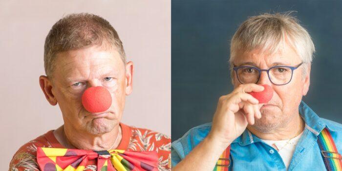 Dolmar de clown is 't een bietje zat