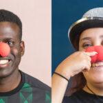 Rona en Lamel willen clown worden