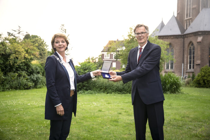 Koninklijke Erepenning voor Fanfare De Vooruitgang Stiphout