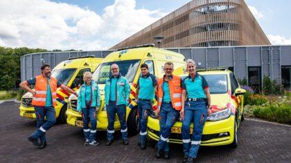 Nieuwe kleding voor ambulancezorgverleners