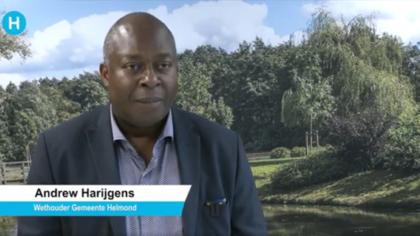Wethouder Andrew Harijgens: muzikant en politicus