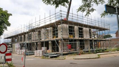 Nieuwbouw aan de Schryverskade