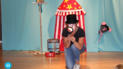 Circus Fantastico: een vrolijke voorstelling in de bieb