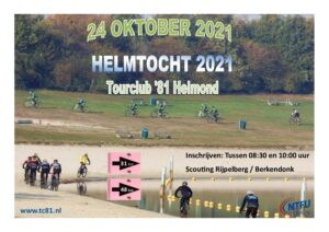 Helmtocht 2021 Tourclub'81 Helmond @ Scouting Rijpelberg