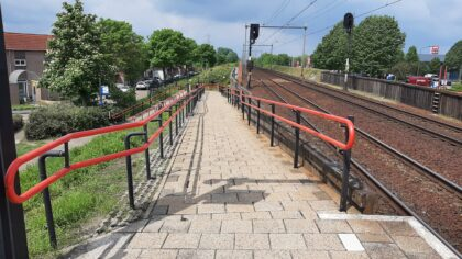 Nieuwe hellingbanen voor station Helmond Brouwhuis