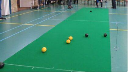 Koersballen ook in de Geseldonk