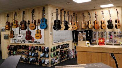 Muziekhandel  Willems in de Elzas Passage gehuisvest