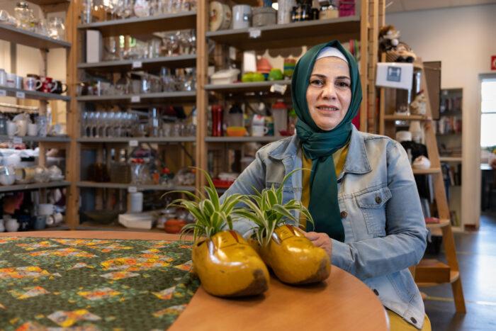 'De Ruilwinkel is een beetje mijn familie in Nederland'