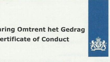 VVD Motie VOG