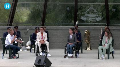 Video: Paralympische sporthelden gehuldigd in Warandepark