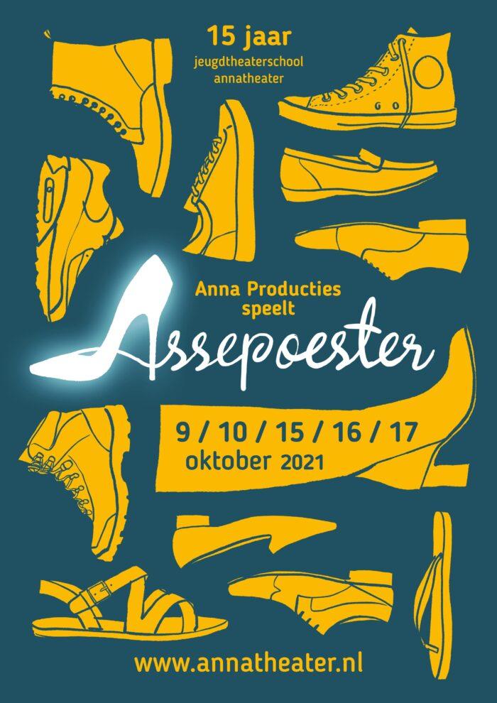 """Assepoester""  15 jaar Jeugdtheaterschool Annatheater"