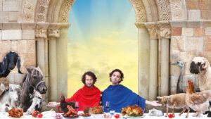 George & Eran worden veganisten @ Het Speelhuis