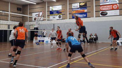 Polaris volleyballers pakken twee punten tegen Breda