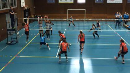 Polaris volleybalvrouwen tonen veerkracht in Uden
