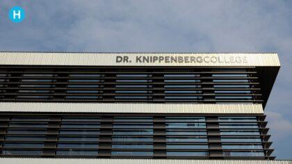 Schoolvoorbeeld filmt het Dr.-Knippenbergcollege
