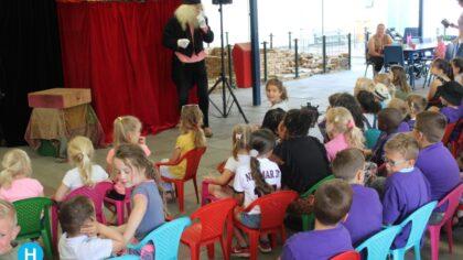 Poppentheater Kris-Kras en live muziek in Speeltuin Leonardus