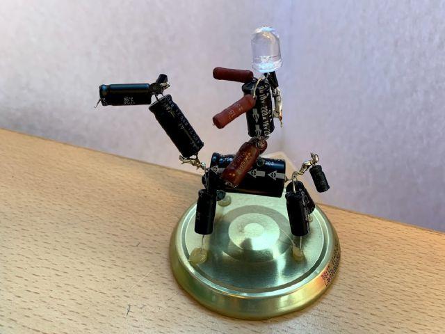 Sparebots maken met E-waste