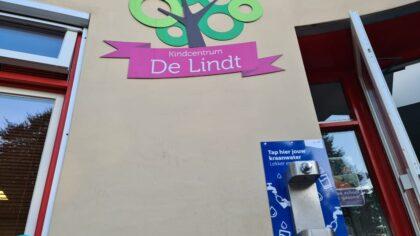 Watertappunt geopend op okc De Lindt
