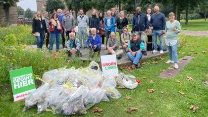 Kasteeltuin weer schoon dankzij vele vrijwilligers