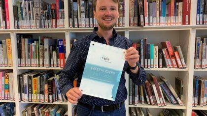 Certificaat Bibliotheek Helmond-Peel voor goede kwaliteit