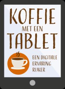 Koffie met een tablet - online boodschappen doen @ Bibliotheek Helmond-Peel