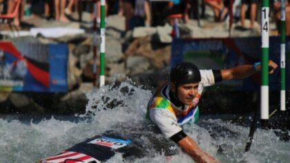 Helmonder Joris Otten niet naar finale wk slalomvaren