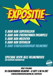 """Expositie """"5 jaar Stadsleerbedrijf Helmond"""" @ De Cacaofabriek"""