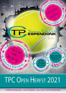 TPC Espendonk Open Herfst 2021 @ Sportpak Espendonk