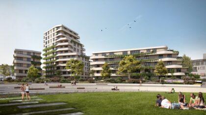 Start bouw 67 appartementen De Weef in Helmond