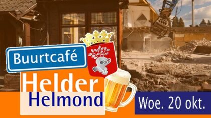 Buurtcafé Helder Helmond in Stiphout
