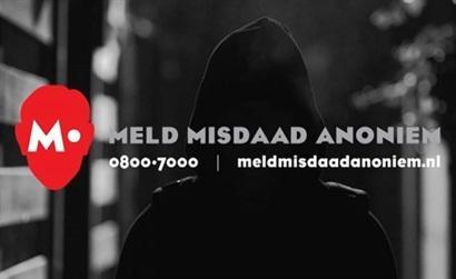 Helmond en regio: door met Meld Misdaad Anoniem