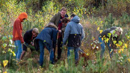 Helpen tijdens Natuurwerkdag IVN Helmond