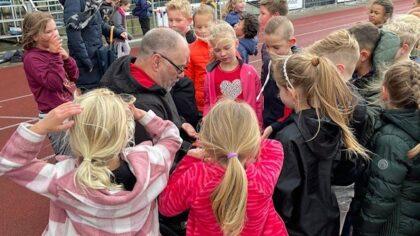 Bezoek voor Paralympisch kampioen speerwerpen Pieter Gruijters