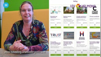 Tijdveiling: mooie kavels in ruil voor vrijwilligerswerk